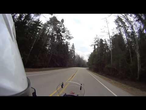 2014 Motorcycle trip around the Lake Michigan.