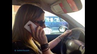 Los peligros del uso del movil durante la conducción