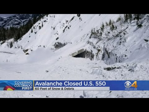 Avalanche Mitigation Closes U.S. 550 Indefinitely