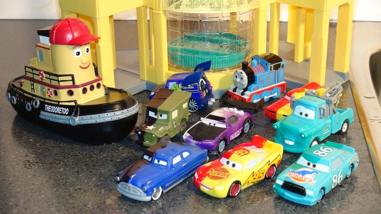 Pixar cars omg the cool color changers at ramones house of body art