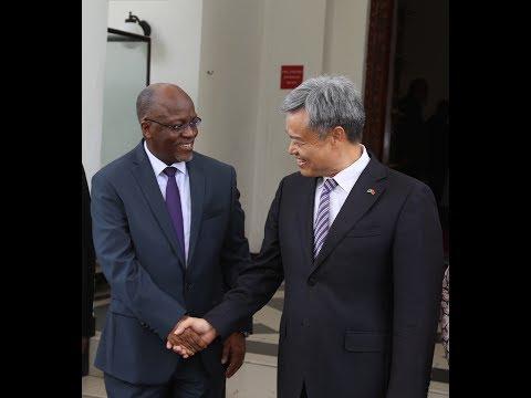 DR. Lu Youqing,The Ambassador of China to Tanzania,Salutes the 2017/18 Tanzania new Budget