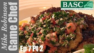 Venison Schnitzel With Salsa Verde - A Step By Step Recipe With Itv Game Chef Mike Robinson