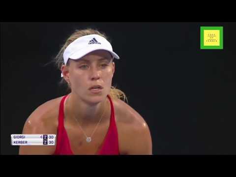Sydney 2018 Semifinal - Angelique Kerber vs Camila Giorgi - Full Highlights HD