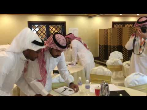 The Marshmallow challenge is a Team work learning activity with Riyadh Bank new recruits