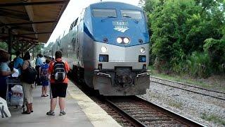 Amtrak Trains, Servicing Stop, Diesel Locomotive Hookup