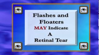 Flashes and Floaters In Your Vision