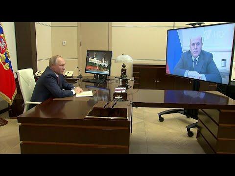 Развитие инфраструктуры и транспорта обсудил В. Путин в ходе рабочей встречи с М. Мишустиным.