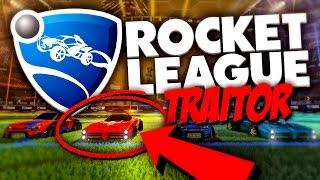 ROCKET LEAGUE TRAITOR MODE! (Rocket League)