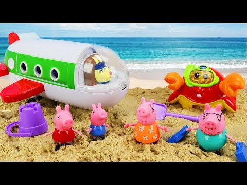 Peppa Pig Toy Learning Video for Kids - 20 minute Compilation!