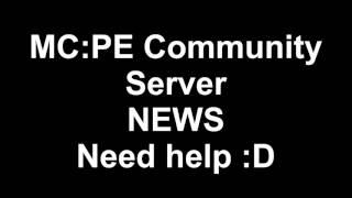 Minecraft PE Community-Server ||| Plugin-Entwickler gesucht :D ||| Danach sofort on!