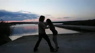 Красивый танец бачата на берегу [Dani J - Hasta Cuando]