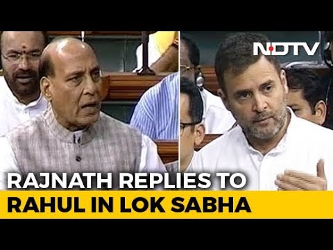 Rahul Gandhi vs Rajnath Singh In Parliament After Wayanad Farmer Suicide