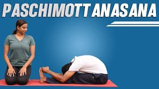 How to Touch Your Toes | Paschimottanasana |