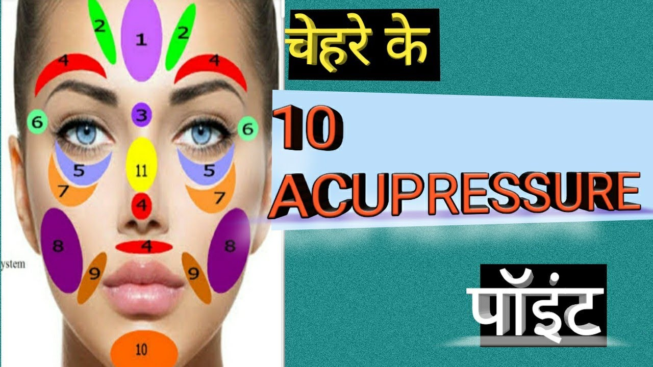 ACUPRESSURE POINT FOR YOUNG AND GLOW SKIN - YouTube