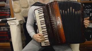 BELTLEAV120CC – Carved Copper Beltuna Leader V Fly Piano Accordion LLMMH 41 120 $13999