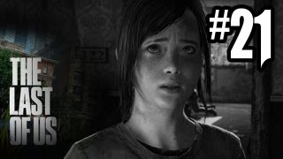 The Last of Us Gameplay Walkthrough - Part 21 - STEALTH BOW WARRIOR!! (PS3 Gameplay HD)