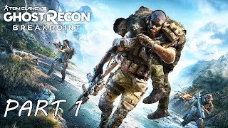 Ghost Recon Breakpoint All Cutscenes Part 1 (Game Movie) 1080p HD 60FPS