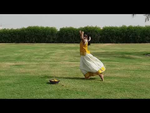 Mayuka vinod nayar.. CETA UAE..performing onam dance... NTV UAE - 2020