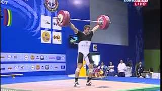2007 World Weightlifting 105 Kg Snatch