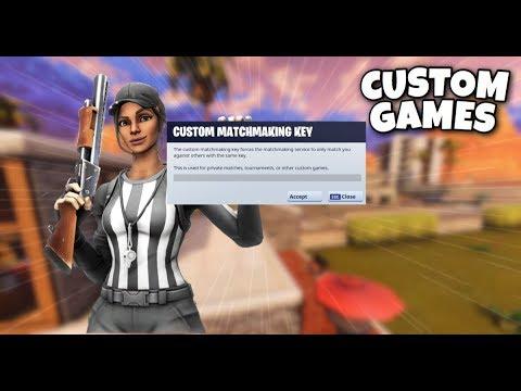 fortnite custom matchmaking live