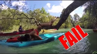 TAIL OF THE FAIL - Hot girl faceplants on paddleboard