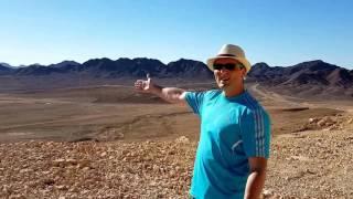 Небольшая поездка из Эйлата вдоль границы с Египтом(Место на карте - https://goo.gl/maps/KXSJhMT3yn72 С видом на Синайский полуостров, и на залив Акаба (Эйлатский залив), 2016-09-28T22:10:47.000Z)