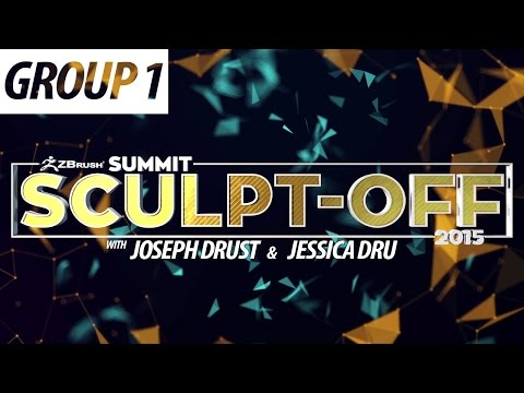 [Group 1] Official ZBrush SUMMIT 2015 Sculpt-off - Part 2