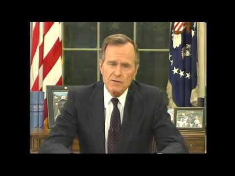 George H. W. Bush Address to the Nation During the Rodney King Riots