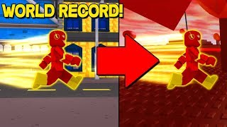 FASTEST ROBLOX PLAYER IN DER WELT! *ROBLOX SPRINTING SIMULATOR*