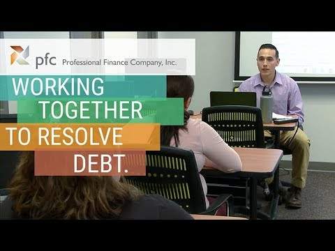 PFC | working together to resolve debt.