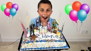 Zidane Happy Birthday Cake Toys!