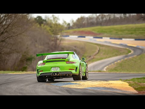 Watch The Porsche 911 GT3 RS Rip Road Atlanta A New One