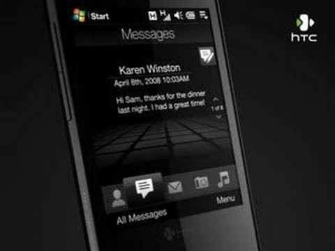 HTC Touch Diamond: TouchFLO 3D Overview
