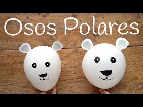 Osos con globos, adornos con globos para fiestas