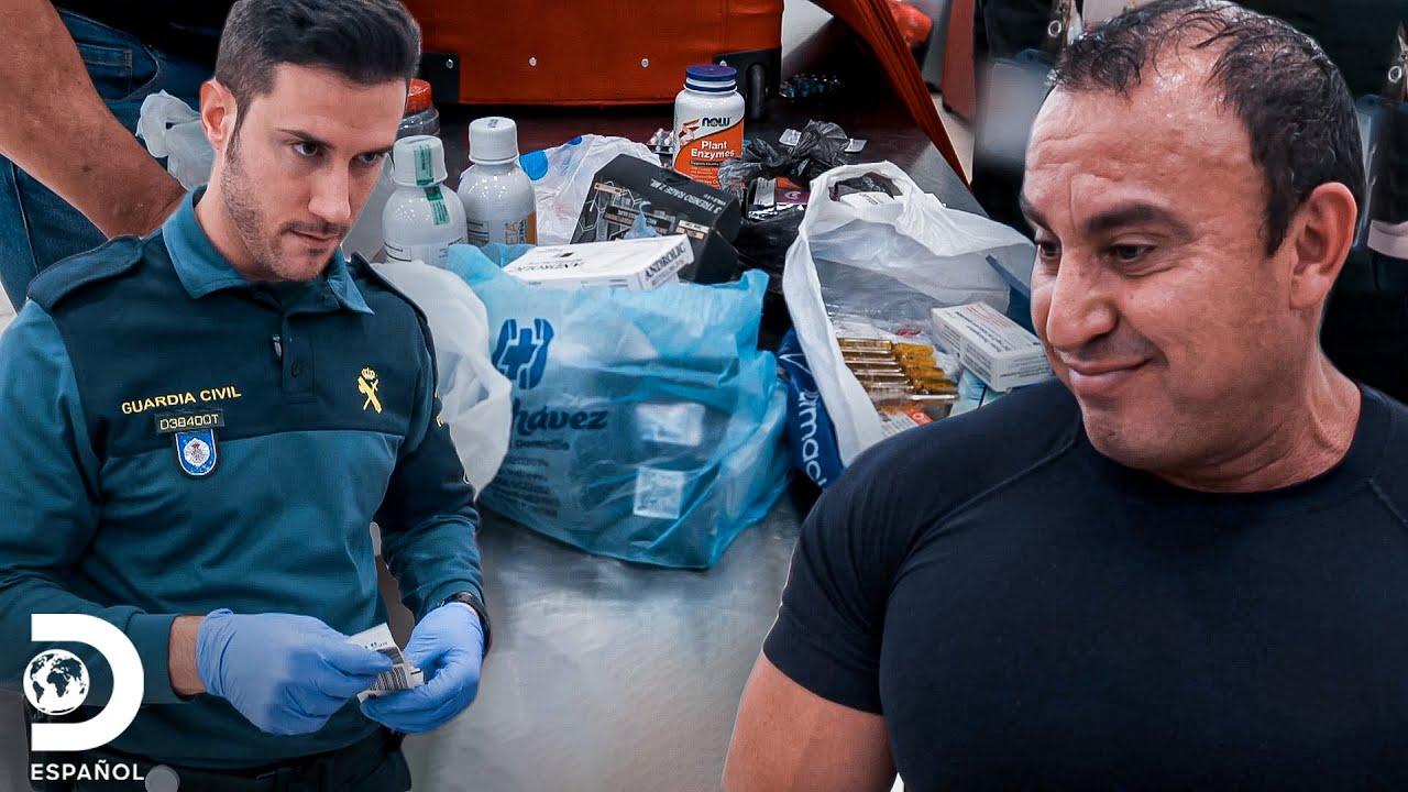 Fármacos llaman la atención de los inspectores | Control de Fronteras España | Discovery En Español