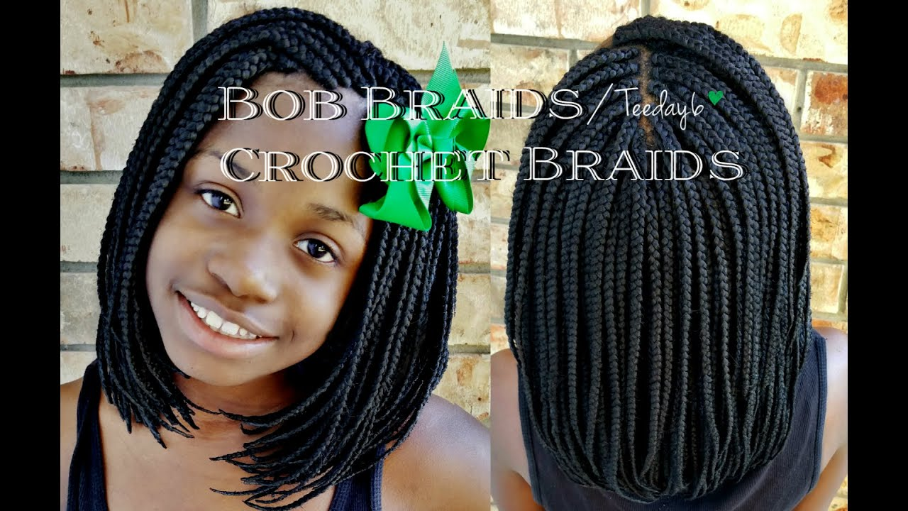 Crochet Hair In A Bob : Bob Braids/Crochet Braids?? Shhh... TEEDAY6 - YouTube
