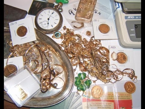 Buying scrap gold + silver from pickers / buyers.  Dealers only
