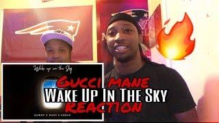 Gucci Mane, Bruno Mars & Kodak Black - Wake up In The Sky [Official Audio]  Reaction