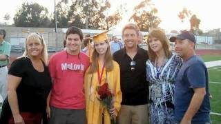 2011 Mission Viejo High School Graduation Stephanie Pearson