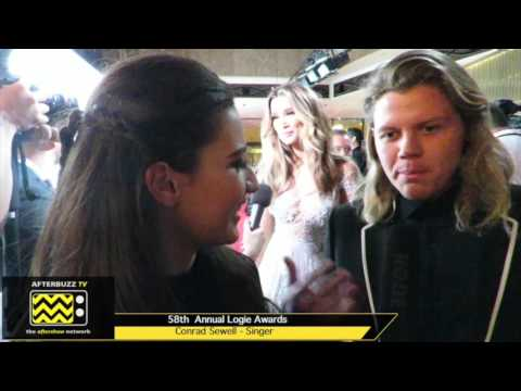 Conrad Sewell LOGIES Awards Interview