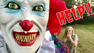IT Clown Steals Harley Quinns Choker and The Punisher gets Pranked