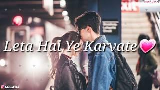 ❤❤❤❤Maine Khud Ko De Diya Hai Tujhko Main Tera..Hoon Tera ❤💖|| so sad whatsapp status 💘💖💗💖
