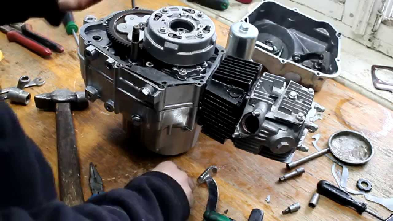 Ремонт двигателя квадроцикла своими руками фото 295
