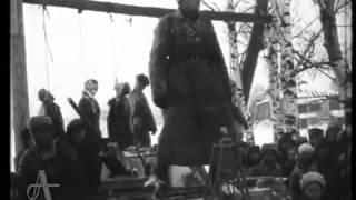 Уникальные кадры Волоколамска военных лет