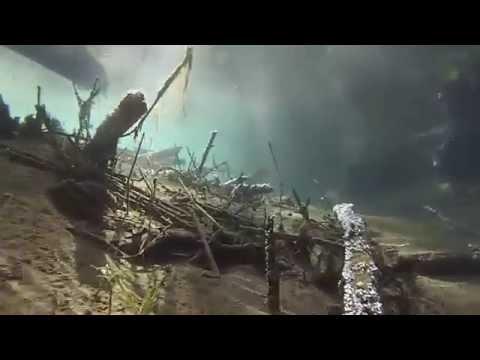 GoPro - Under The Kayak : Lake Zumbro MN