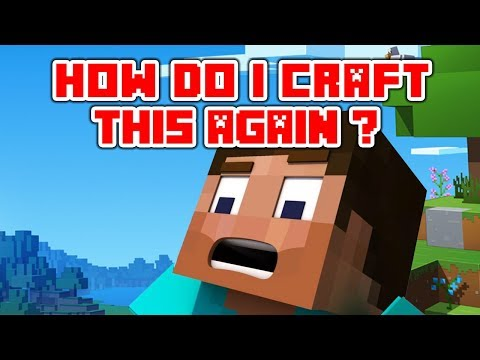 "Minecraft Song Videos ""How Do I Craft This Again"" parody of When Can I See You Again by Owl City"