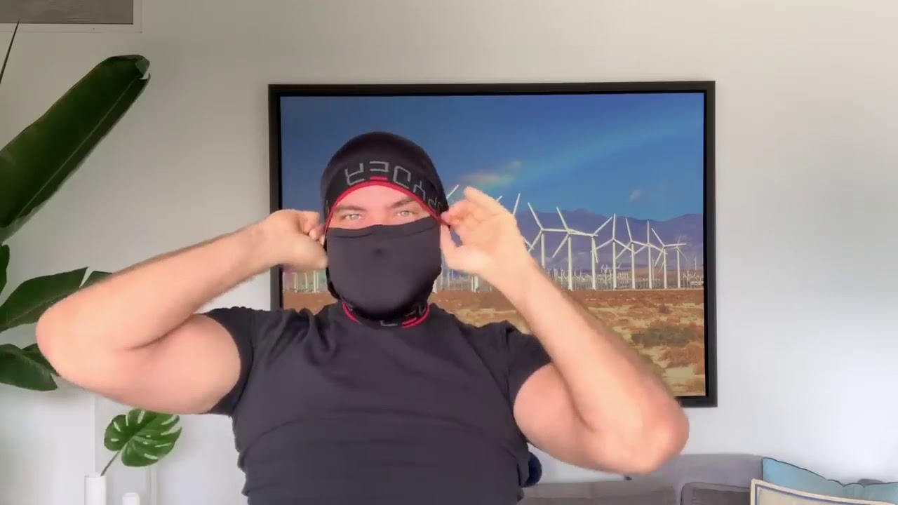 Making A Corona Mask Out Of Underwear Youtube