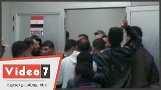 المنتخب يخرج فى حراسة الجيش من استاد برج العرب بسبب الجماهير
