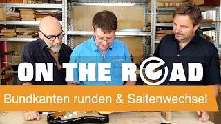 Gambar cover Fender Stratocaster Setup Guide: Bundkanten runden & Saitenwechsel - SUPERGAIN TV 33