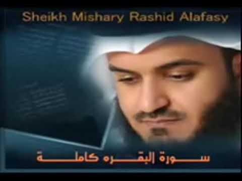 Download سوره البقره كامله بصوت الشيخ مشاري العفاسي (بدون إعلانات)